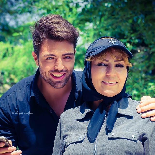 عکس ارمیا قاسمی و مادرش + بیوگرافی و شغل دوم