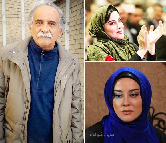 عکس های اسماعیل محرابی و دخترش آشا محرابی و ماجرای طلاق