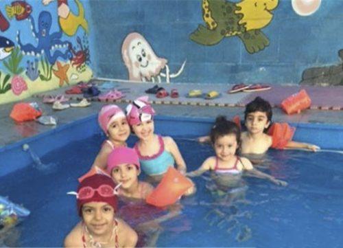عکس های جنجالی استخر مختلط مهد کودک در تهران + ماجرا,ماجرای استخر مختلط در مهد کودکی در تهران