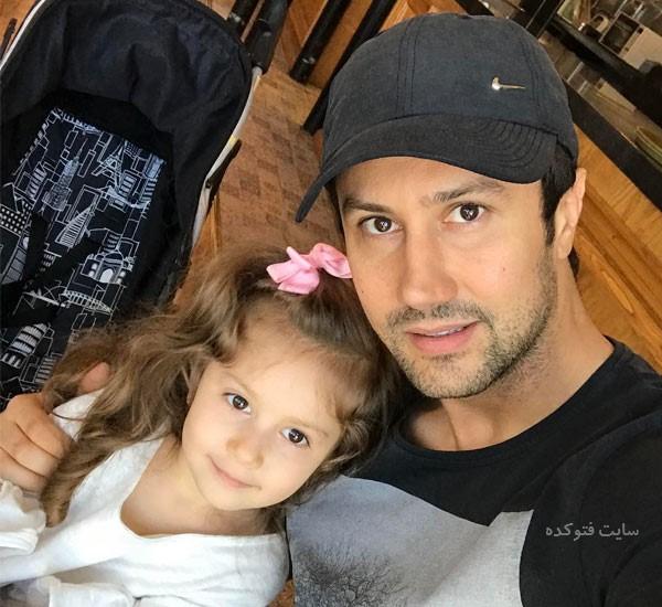 عکس های شاهرخ اسخری در کنار دخترش + بیوگرافی