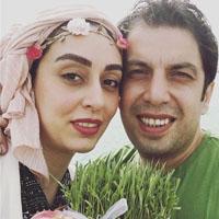 عکس بازیگران در عید نوروز 1396 + همسران و هفت سین