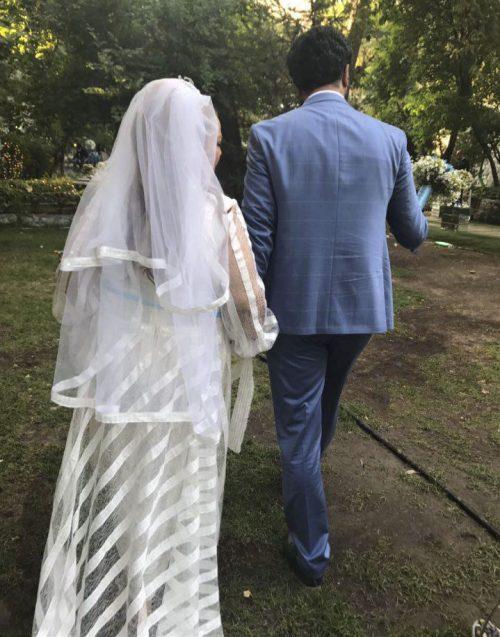 عکس عروسی بهاره رهنما و امیر خسرو عباسی