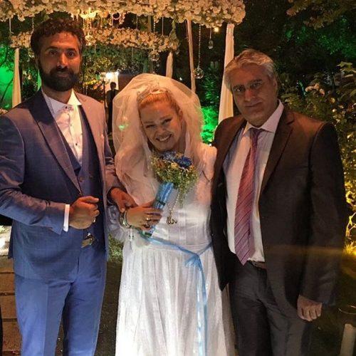 عکس عروسی بهاره رهنما
