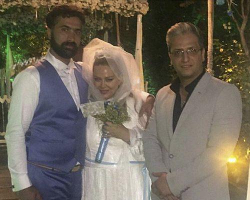 عکس عروسی مجدد بهاره رهنما با امیر خسرو عباسی
