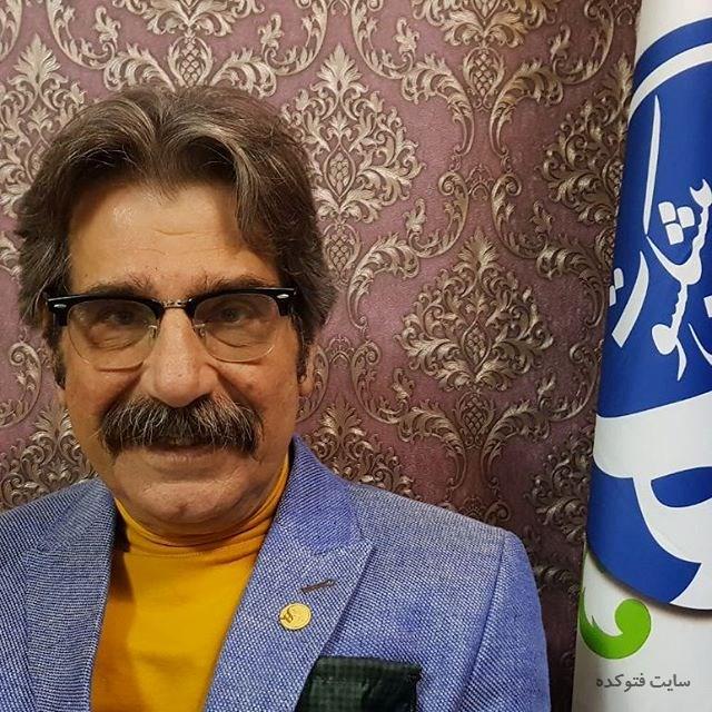 عکس عزت الله مهرآوران بازیگر + زندگی شخصی