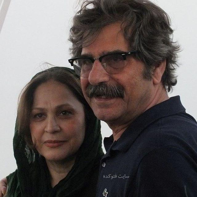عکسعزت الله مهرآوران و همسرش + بیوگرافی