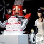 عکس های اولین مراسم ازدواج دو ربات