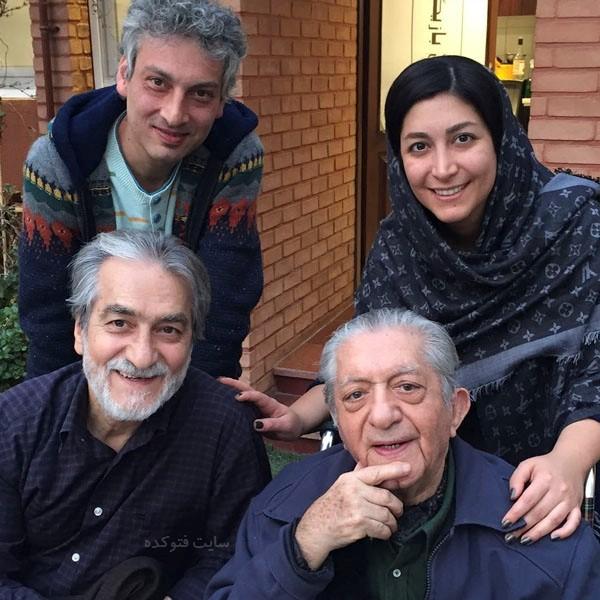 عکس های عزت الله انتظامی + خانواده و زندگی شخصی