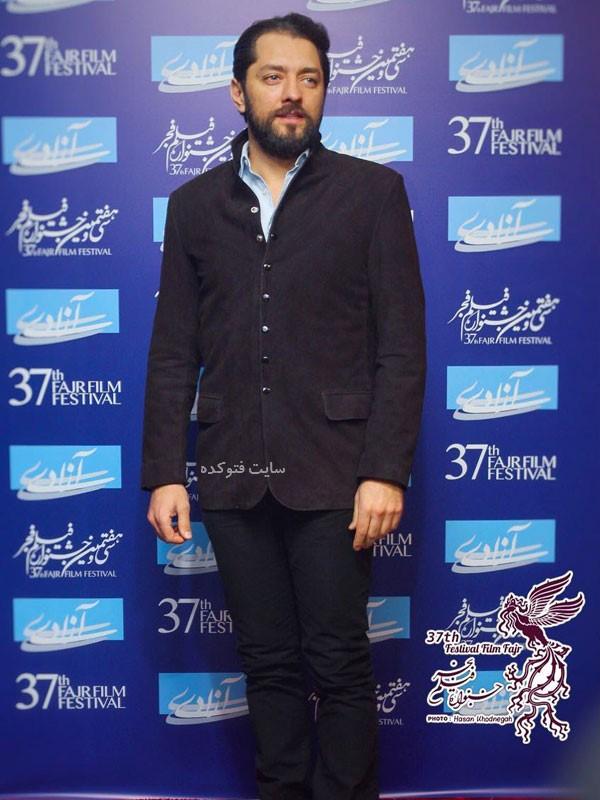 عکس های روز اول جشنواره فجر 97 بهرام رادان