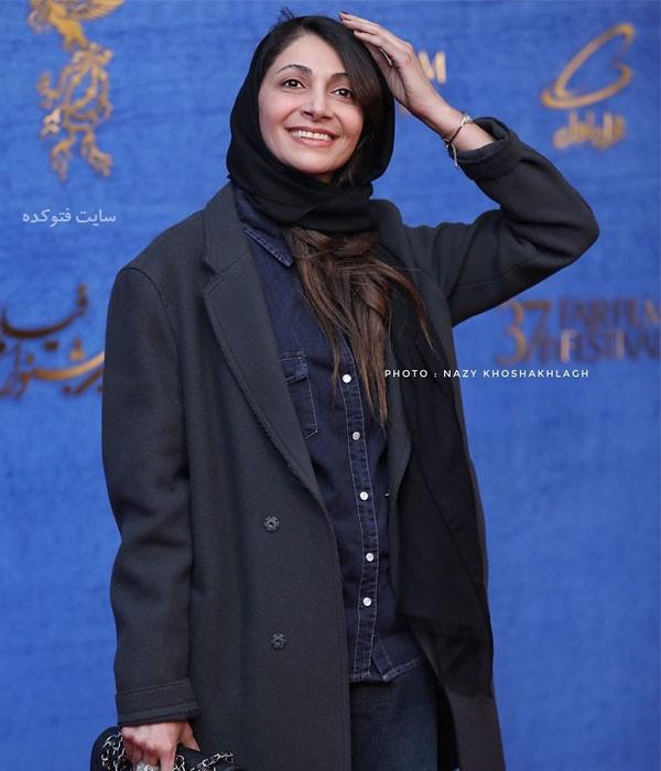 عکس های روز اول جشنواره فجر 97 نیلوفر خوش خلق