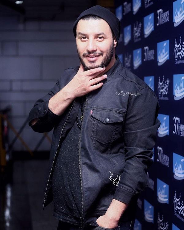 عکس جواد عزتی روز اول جشنواره فجر سی هفت