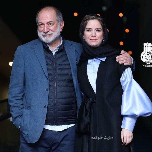 روز اول جشنواره فجر سی هفت آتیلا پسیانی و دخترش