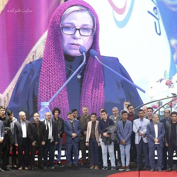 بازیگران در اختتامیه جشنواره فجر 37