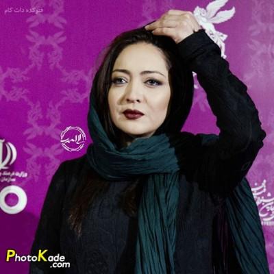عکس نیکی کریمی در جشنواره فیلم فجر 94