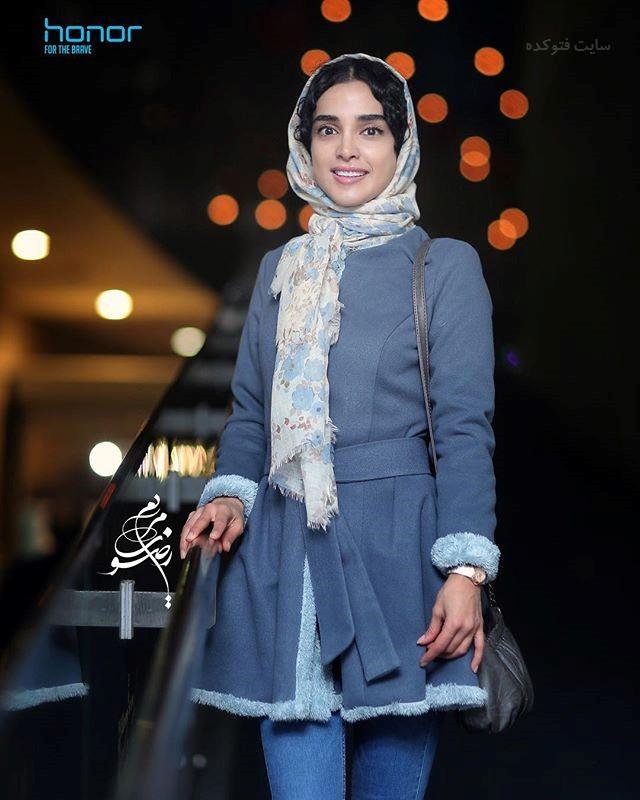 عکس الهه حصاری جشنواره فجر 96