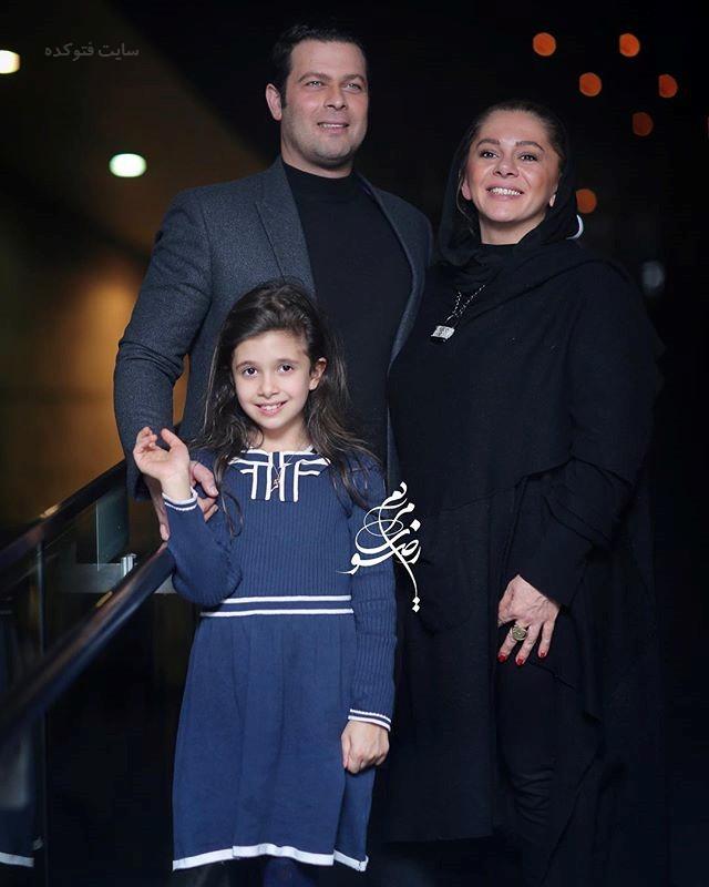 عکس پژمان بازغی و خانواده جشنواره فجر 96