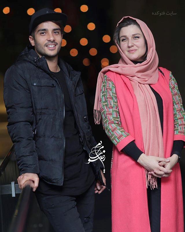 عکس گلوریا هاردی و همسرش جشنواره فجر 96