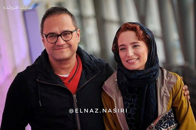 عکس رامبد جوان و همسرش نگار جواهریان در جشنواره فجر 95