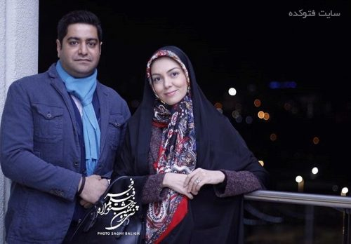 عکس آزاده نامداری و سجاد عبادی در جشنواره فجر 95