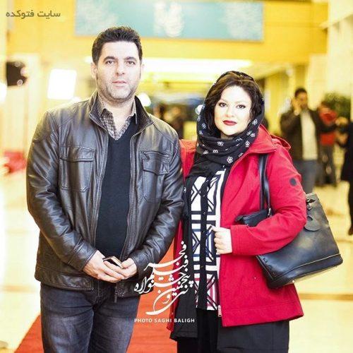 عکس مصطفی کیایی و همسرش در جشنواره فجر 95