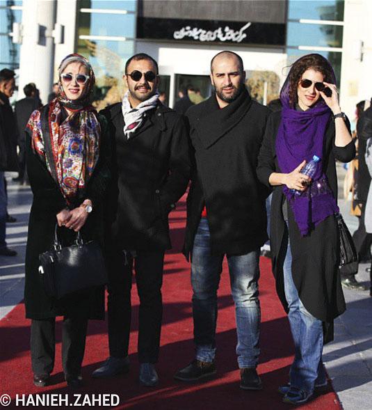 عکس بازیگران در جشنواره فیلم فجر 93 عکس افراد مشهور سینما