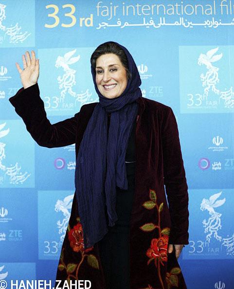 عکس بازیگران در جشنواره فیلم فجر 93 عکس سیمین معتمد آریا