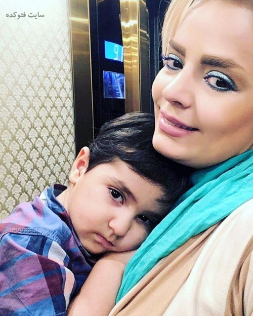 عکس سپیده خداوردی و پسرش (بیوگرافی)
