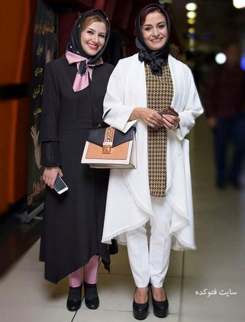 عکس مریلا زارعی (بیوگرافی) و خواهرش ملیکا (بیوگرافی)
