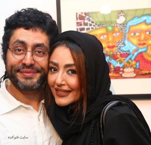 عکس شقایق فراهانی و برادرش (بیوگرافی)