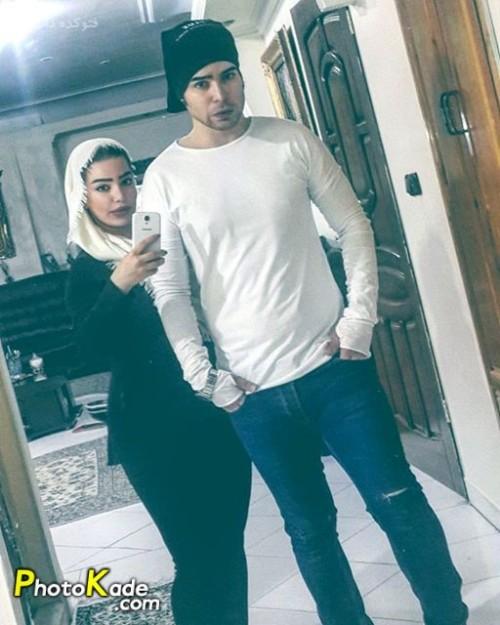 عکس شیما نیازی و برادرش