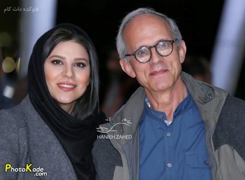 عکس سحر دولتشاهی و پدرش