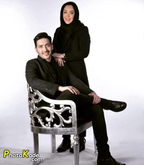 عکس سارا منجزی پور و برادرش