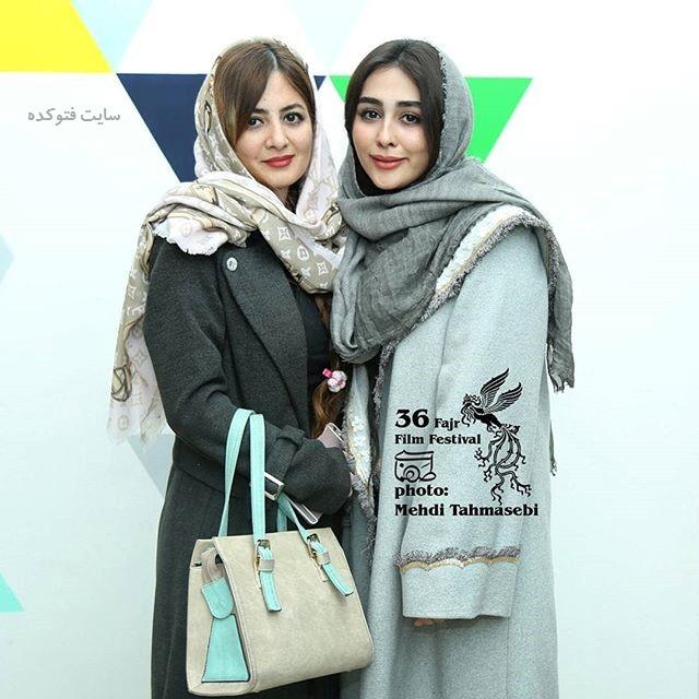عکس ستاره حسینی و خواهرش