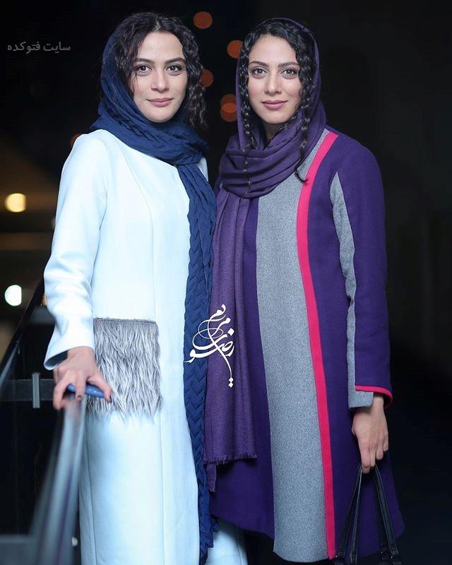 عکس مونا و مارال فرجاد دو خواهر بازیگر