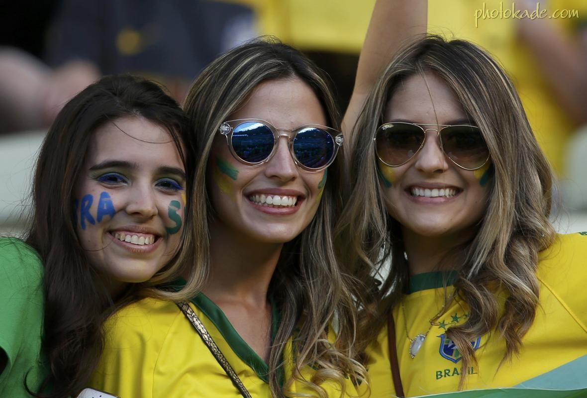 دختران خفن جام جهانی 2014 برزیلی