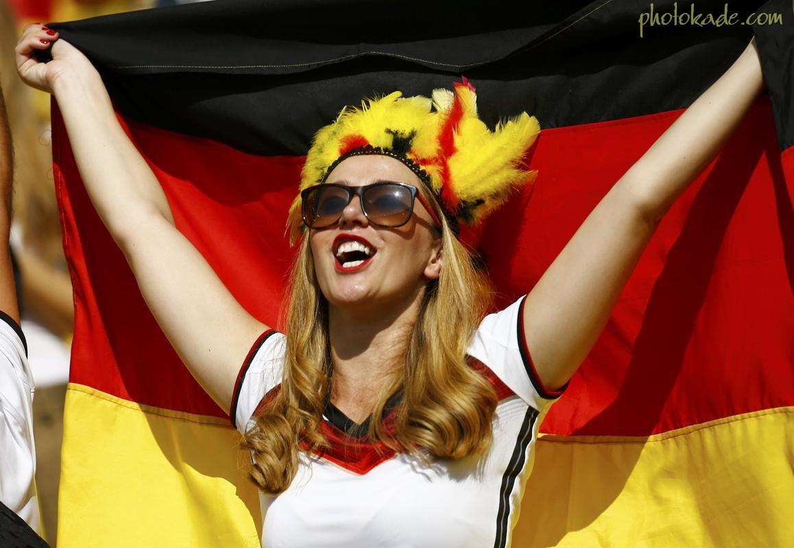 عکس جام جهانی 2014,عکس تماشاگران آلمانی جام جهانی