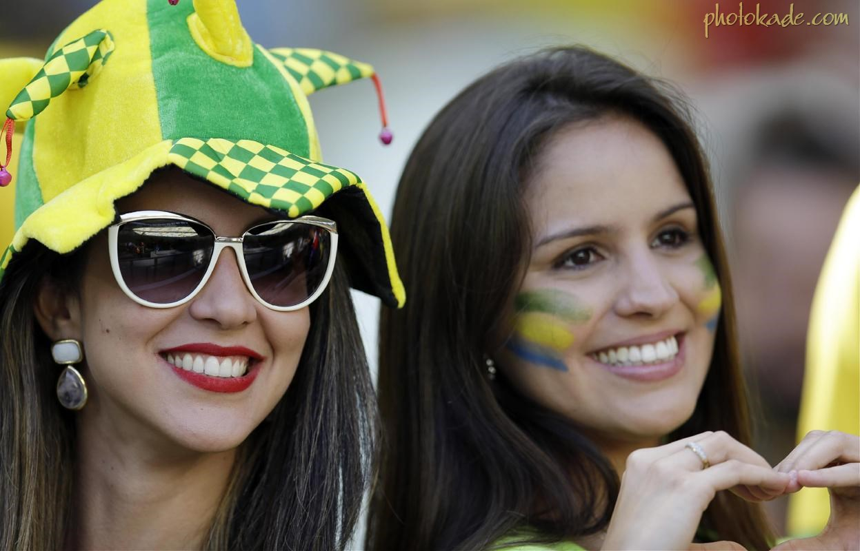 عکس 3کسی تماشاگران جام جهانی 2014