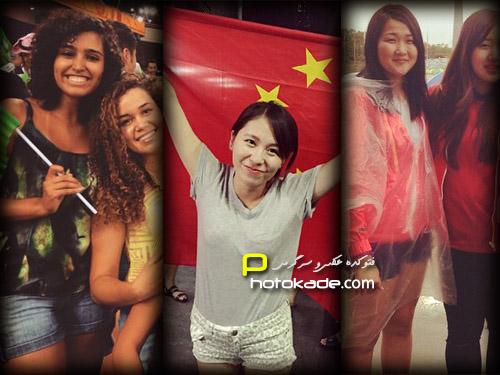 عکس تماشاگران زن جام ملتهای آسیا 2015,عکس تماشاگران زن جام ملت های اسیا 2015,تماشاگران دختر جام ملت های اسیا 2015 استرالیا,عکس تماشاگران کس جام ملت های اسیا