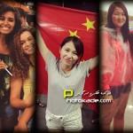 عکس تماشاگران زن جام ملتهای آسیا 2015
