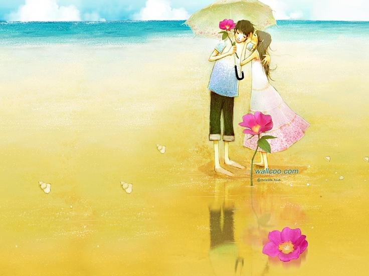 عکس فانتزی دادن گل به همسر عاشقانه