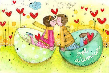 بوسه های احساسی دختر و پسر