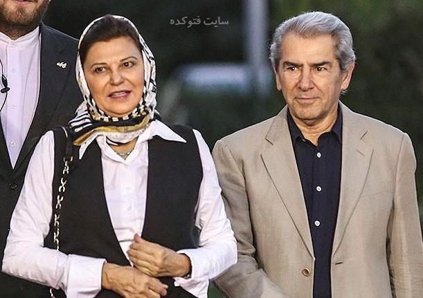 عکس فرامرز قریبیان و همسرش مهشید بازرگانی + بیوگرافی