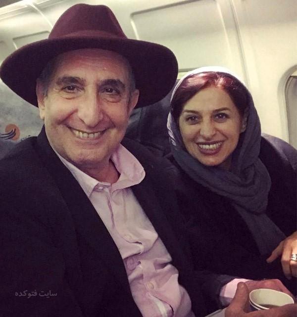 فرهاد آئیش و همسرش مائده طهماسبی + بیوگرافی