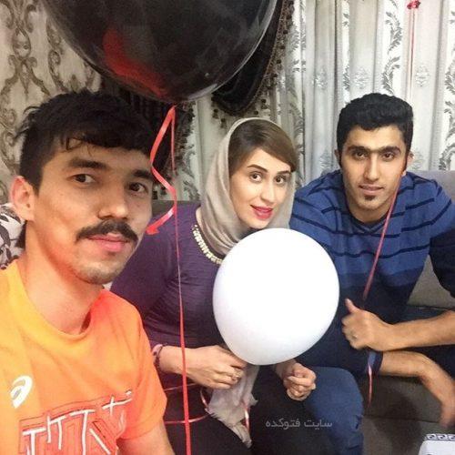 فرهاد قائمی و مجتبی میرزاجانپور و نیلوفر ابراهیمی