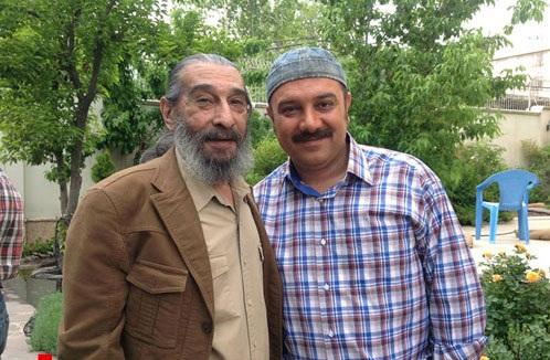 عکس انوشیروان و برزو ارجمند