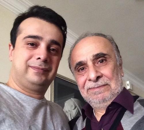عکس سعید و سپند امیرسلیمانی