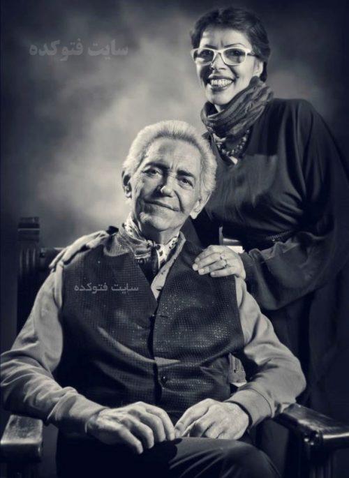 عکس فرهنگ شریف و همسرش منصوره رضایی