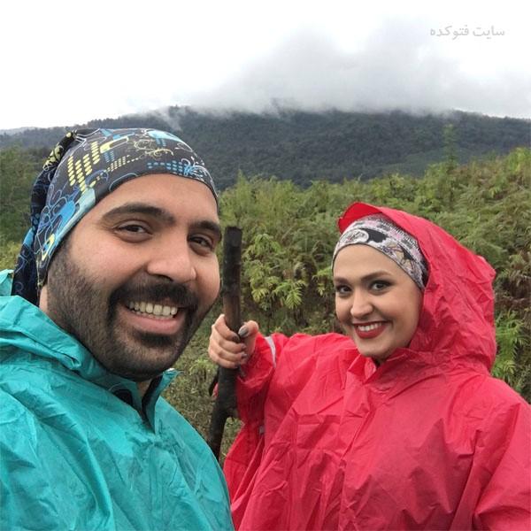 فریبا باقری و همسرش مصطفی گلستانیه + بیوگرافی کامل