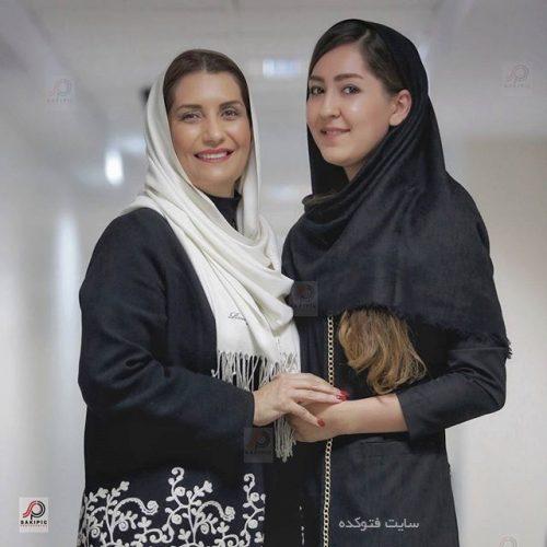 عکس فریبا کوثری و خواهرزاده اش کیمیا