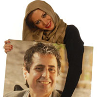 بیوگرافی فریبا نادری و همسرش مسود رسام + عکس خانوادگی